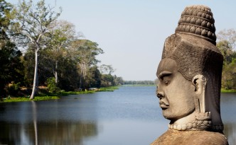 South gate to Angkor Thom